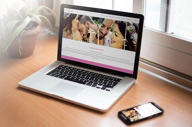 Tvorba webové prezentace pro svatební agenturu Svatba jak má být