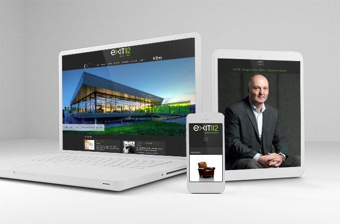Tvorba webových stránek pro společnsot Exit 112 a Böhm